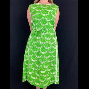 60/70s Jamison Boutique Flower Power Shift Dress